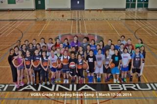 2015 Grade 7-8 Camp